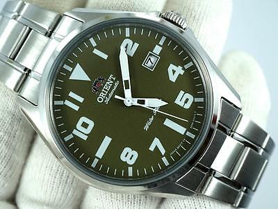 New Orient Stainless steel Automatic date 42mm watch FER2D006F0