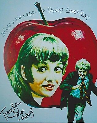 Tracy Hyde Signed Photo - MELODY - Starring Mark Lester & Jack Wild - RARE G514