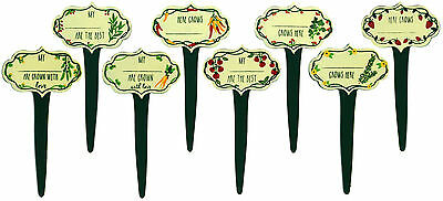 Vegetable Patch Garden Stakes