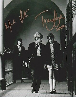 Mark Lester & Tracy Hyde Signed Photo - MELODY - Starring Jack Wild - RARE G528