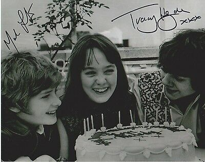 Mark Lester & Tracy Hyde Signed Photo - MELODY - Starring Jack Wild - RARE G532