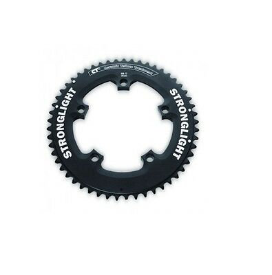 STRONGLIGHT CT2 CERAMIC TIME TRIAL TT BLACK 130BCD mm SHIMANO CHAINRING 52T