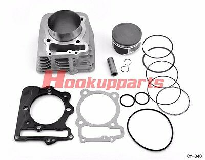 89mm 440cc Big Bore Cylinder Piston Gasket Kit for Honda XR400R 1996-2004 NEW E2