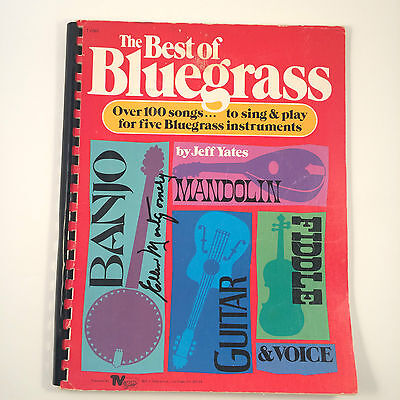 The Best of Bluegrass TV Vegas Publishing Tablature by Jeff Yates 1981 100 Songs
