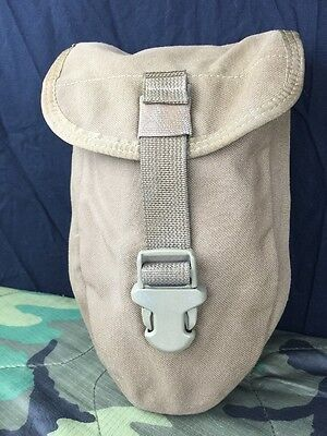 Us Military Molle Ii - Coyote Brown Entrenching E-Tool Case Dump Pouch Euc