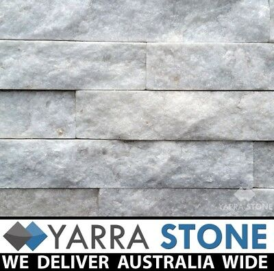 Stone Wall Cladding / Stacked Stone / Stackstone -Crystal White