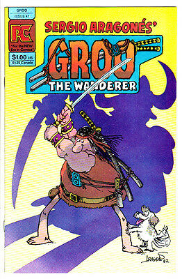 GROO THE WANDERER #1 (VF/NM) Sergio Aragones Biography! 1982 Pacific Comics