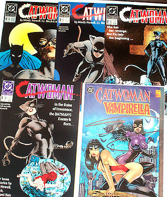 CATWOMAN (1989) #1-4 (1993) #1-5 +SHOWCASE 93 #1-4 + 1 Shots & More! 17 issues!