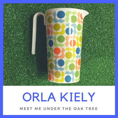 Orla Kiely Melamine Pitcher - Melamine Jug - Multi Shadow Flower NEW