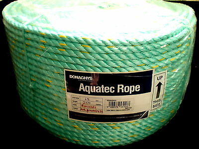 250m x 12mm BLENDED PP/PE MARINE & CONSTRUCTION ROPE