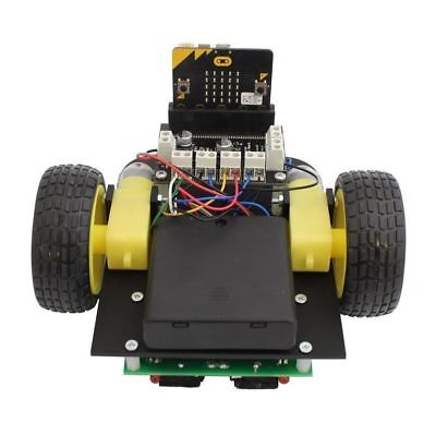 Line Following Robot Buggy car for the BBC micro:bit SELF BUILD KIT
