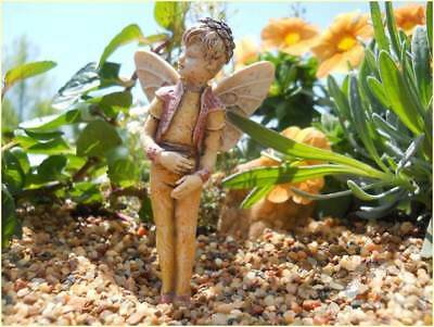 "3.25"" My Fairy Gardens Mini Figure Pick - Will - Resin Miniature Figurine Decor"