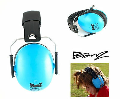 KID'S BANZ NEW Ear Muff Defenders Blue BNIB