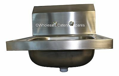 Wall Mounted Commercial Kitchen Sink Stainless Steel 400x400x340mm Easi-Wash