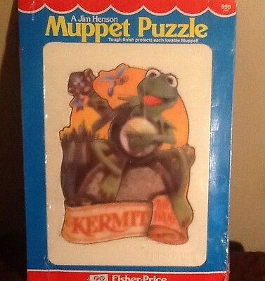 Vintage 1981 Jim Henson Muppet Puzzle - Fisher Price-Brand New Completely Sealed