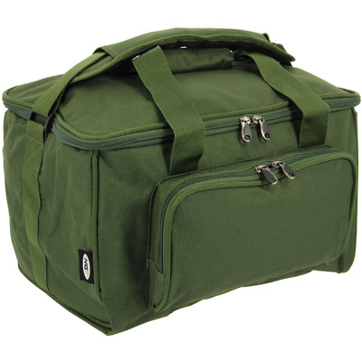 New Green Small Fishing Tackle Session Bag Holdall Carp Coarse Stalker  NGT 537