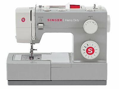 New Portable Heavy Duty Sewing Machine Industrial Leather Embroidery Singer 4411
