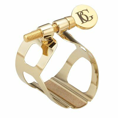BG Tradition Ligature with Cap for Bb Clarinet in Gold Plate