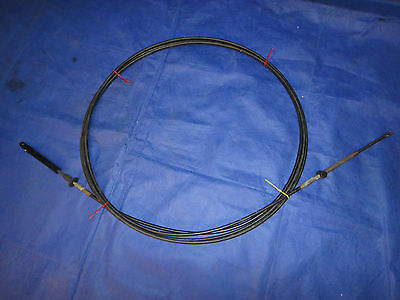18 ft OMC, Evinrude, Johnson Remote Control Cable FREE SHIPPING to CANADA USA