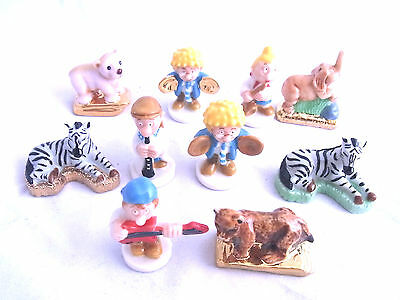 Wade Whimsie VARIOUS Animal Lands & Tetley some Gold Detail