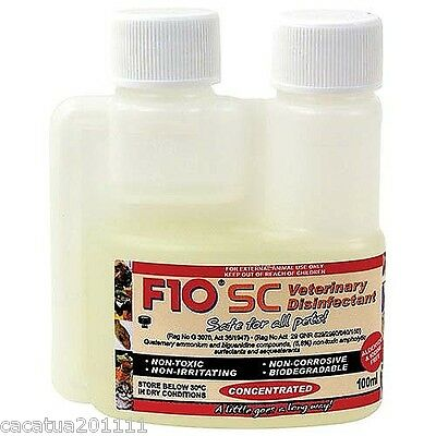 F10 Super Concentrated Veterinary Disinfectant 100ml