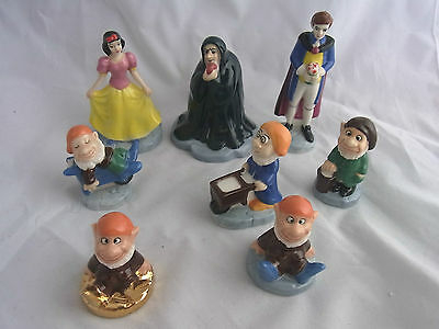 Wade Collectors Club - Various Snow White and the 7 seven dwarfs dwarves