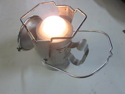 Vintage Stadium British Made Railway Lantern Air Raid Lamp Light