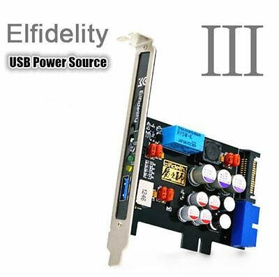 Elfidelity USB Power Source PC-HiFi Pre-amplifier Filter for USB Audio Device