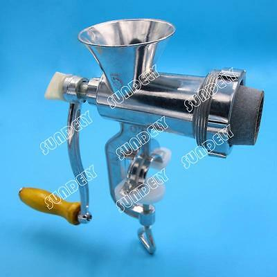 Heavy Duty Meat Mincer Grinder Manual Hand Operated Kitchen Beef Sausage Maker