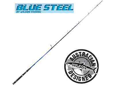 Wilson Blue Steel Estuary 7' Ultra Light Spin 2 piece Fishing Rod BRAND NEW