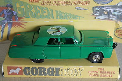 Corgi Toys  * Green Hornet * Black Beauty * 1:43 * Code 3 * Unikat