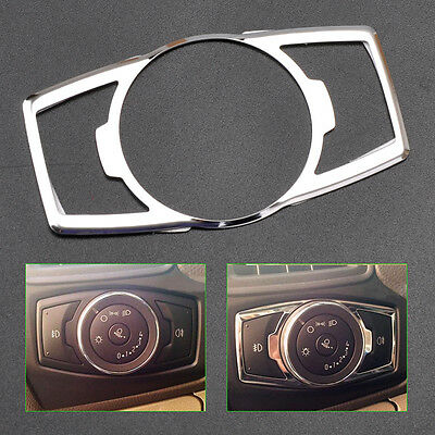 Chrome Fog Head Light Switch Button Cover Trim BN Fit Ford Escape Kuga 2013 2014