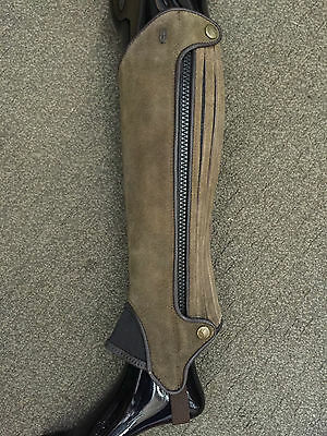 Tredstep Xtreme Suede Half Chaps End Of Line Clearance Sale Various Sizes Colour