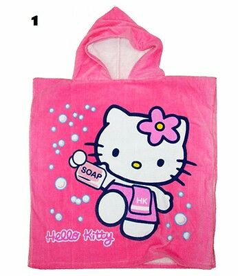 Hello Kitty Kids Hooded Poncho Towel