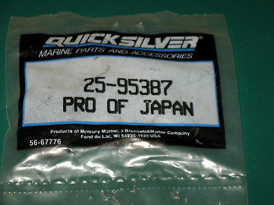 Quicksilver Mercury Mariner 95387 outboard Lower Cowl Cover Grommet New Oem