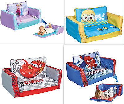 2in1 Kindersofa + Schlafcouch AUSWAHL Kindercouch Sofa Couch Sessel Kinderbett