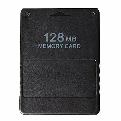 Brand New 128MB Memory Card For Sony Playstation 2 Storage Data