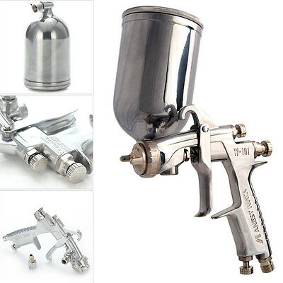 ANEST IWATA W-101 HVLP Gravity Feed Paint Spray Gun 1.0/1.3/1.5/1.8mm With Cup T