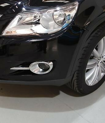 Volkswagen Tiguan 2008 - 2010  Chrome Fog Lamp Surround Genuine Part