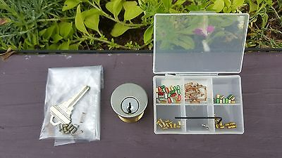 "Schlage 6 pin ""Build-A-Lock"" practice lock - with pinning kit"