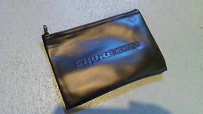 Large Black Shure Mic Protective Storage Zipper Bag Pouch for Beta 52A