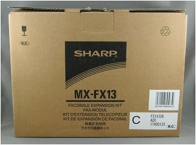 New Sharp MX-FX13 Fax Expansion Kit to Suit Sharp MX-M232D/M182D Printer