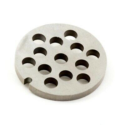 * CUTTING PLATE  FOR MEAT GRINDER TYPE 5 / Ø 8 mm * FOOD MINCER STAINLESS STEEL