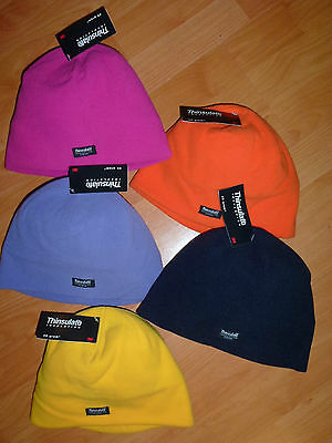 3M Thinsulate 40 gram warm polar fleece beanie Mens Women size 54 cm New Unisex