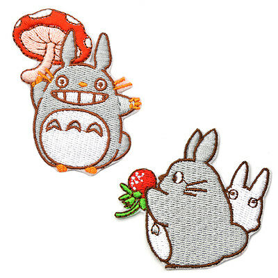 My Neighbour Totoro Patch Sewing Embroidered Applique DIY Clothing Bag Handmade