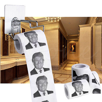 Donald Trump Toilet Roll Paper Presidential Candidate Novelty Funny Gag Gifts