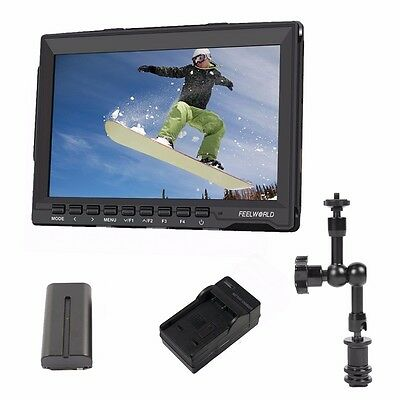 "Feelworld FW-759 7"" 1080P Camera Field Monitor Ultra HD IPS Screen Monitor"