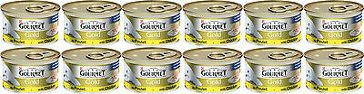 Gourmet Gold Cans 85g Chicken Pate Bulk Buy Of 12