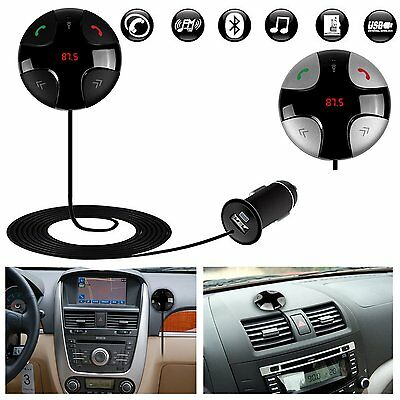 Bluetooth Car MP3 Player FM Transmitter Hands-free Charger For Samsung iPhone 6