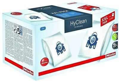16 Pack Genuine Miele Gn 3D Hyclean Vacuum Cleaner Dust Bags With 8 Filters